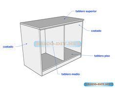 Bricolaje on pinterest for Programa para hacer muebles de melamina gratis