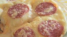 Receita – Pizza de Frigideira 2.0 (melhor Explicação) | MINHAS RECEITAS Super Easy, Meat, Food, Sauce Recipes, Incredible Recipes, Cake Roll Recipes, Delicious Recipes, Yummy Recipes, Creamed Potatoes
