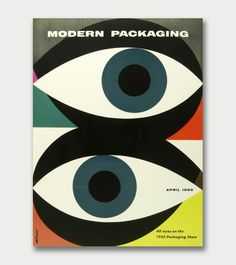 Walter Allner – Modern Packaging, 1950s/60s.