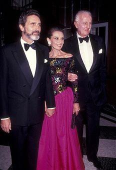 NEW YORK CITY - NOVEMBER 3:  (L-R) Robert Wolders, Audrey Hepburn and Hubert de...