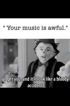 I READ IT IN HIS VOICE!!! XD But yeah, I'll make it look like a bloody accident :)