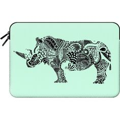 Macbook Sleeve - Rhino S ($60) ❤ liked on Polyvore