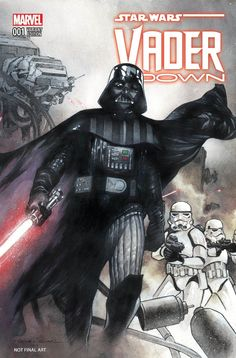 Star Wars - Vader Down #1 variant cover by Olivier Coipel *