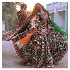 Pakistani couture Ali Xeeshan Amna Babar Bridal Couture Campaign with Hasnain Lehri Pakistani Couture, Indian Couture, Pakistani Bridal, Pakistani Dresses, Indian Dresses, Indian Outfits, Bridal Lehenga, Afghan Clothes, Afghan Dresses