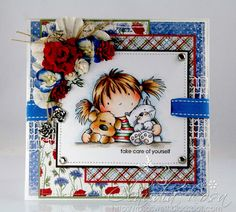 Hello sweets… today I can post one of my cards I did submit in July 2011 to a book. This one did not make the cut along with a Magnolia c...