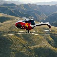 Red Bull aerobatic helicopter Bo-105
