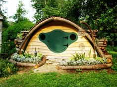 hobbit houses (or sheds, playhouses, whatever you like)