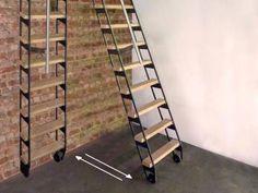 ZIP UP : échelle - escalier escamotable
