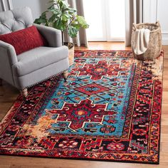 Oriental Pattern, Oriental Rug, Light Blue Area Rug, Blue Area Rugs, Red Light, Tribal Patterns, Tribal Rug, Online Home Decor Stores, Outdoor Rugs