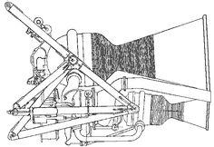 Side elevation of the Bristol Siddeley Stentor rocket engine