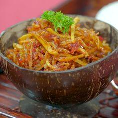 Sambal Mustafa - New Ideas Fun Cooking, Cooking Recipes, Sambal Recipe, Asian Recipes, Healthy Recipes, Malay Food, Food Goals, Indonesian Food, Diy Food