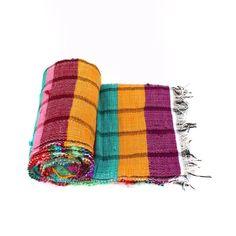 Hand Loom Chindi Carpet Rag Rug Floor Yoga Mat Indian Eco Beach Kilim Throw Y563 #Unbranded #RagRug