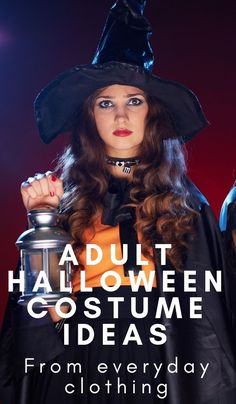 Easy adult Halloween costume ideas are pretty hard to find! I started pulling adult Halloween costumes that I can make from clothes I could wear again and ran with it! Easy Adult Halloween Costumes For Women, Halloween Costunes, Inexpensive Halloween Costumes, Food Halloween Costumes, Mom Costumes, Homemade Costumes, Adult Costumes, Costume Ideas, Halloween Makeup