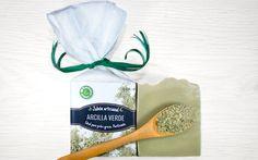 Jabón artesanal de arcilla verde. Ideal para pieles grasas. Purificante.
