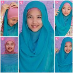 Tutorial Hijab Pashmina Simple #3/Wide Shawl Hijab Tutorial Simple Style #3