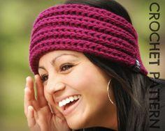 CROCHET HEADBAND PATTERN - Ridgeline Headband.  possible new product?