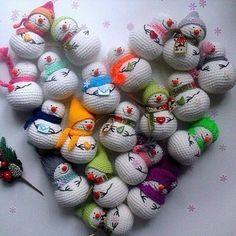 Mesmerizing Crochet an Amigurumi Rabbit Ideas. Lovely Crochet an Amigurumi Rabbit Ideas. Crochet Snowman, Christmas Crochet Patterns, Crochet Patterns Amigurumi, Amigurumi Doll, Crochet Dolls, Crochet Yarn, Amigurumi Minta, Knitting Patterns, Crochet Winter
