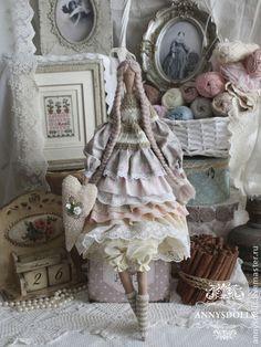 Куклы Тильды ручной работы. Ярмарка Мастеров - ручная работа Магалая. Handmade.