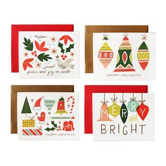 Get in the holiday spirit with cheerful greeting cards. #etsy