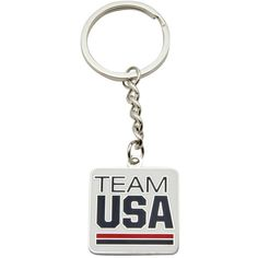 USA Olympic Team Square Keychain