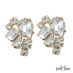 GLEAMING EARRINGS -2015 Fall Collection- www.parklanejewelry.com