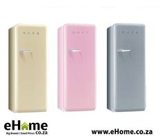 Make your year a colourful one with Smeg Kitchen appliances from eHome.co.za. Our range of fridges, stoves and ovens will brighten any kitchen and make your house a home. #appliances #homeimprovement #lifestyle