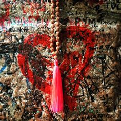 Necklace Arjuna Rudraksha pink on the lovers' wall in the #Capulets house, #Verona ❤️#lindahering #julietsbalcony #handmade #madewithloveinbaliღ #lindaheringnecklace #arjuna #rudraksha #accessories #unikat #lookoftheday #fashionista #musthaves #hippiechic  #bohostyle #bohemianstyle #boholuxe #boho #artisinal #romeoandjuliet #necklace #jewellery #handmade #jewellerygram #handmadejewellery Hippie Chic, Bohemian Style, Verona, Beach Towel, Boho Fashion, Handmade Jewelry, Lovers, Jewellery, Wall