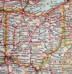 old map - Ohio