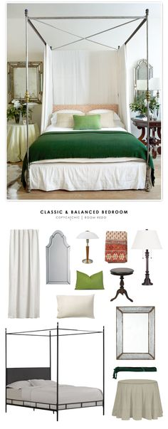 Copy Cat Chic: Copy Cat Chic Room Redo | Classic & Balanced Bedroom by @audreycdyer