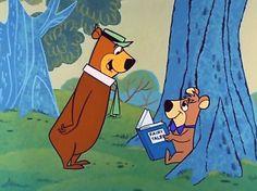 Yogi Bear. Hey Boo-Boo!
