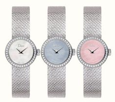 La Mini D de Dior Satine Watch, Luxury Timepieces by Victoire de Castellane