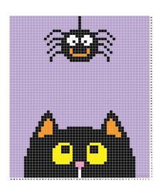 Best baby crochet halloween repeat crafter me 19 Ideas Pixel Crochet, C2c Crochet, Crochet Blanket Patterns, Crochet Baby, Free Crochet, Cross Stitching, Cross Stitch Embroidery, Cross Stitch Patterns, Pixel Art