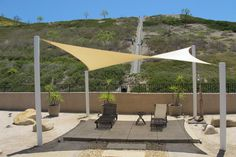 1000 images about fabric shade structures on pinterest for Shadesails com