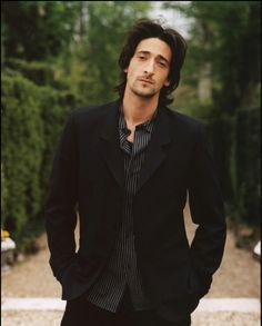Conformity never stands out. Adrien Brody.  To me his fame speaks of ignoring those people who pick apart why you are not conventional enough to succeed.  Ignore the haters, and be your sexiest, most confidant self always.