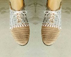 Winter Famous Outdoor shoes Crochet shoes wedding by elvihandmade