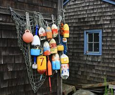 Lobster Traps for Outdoor Decoration | Buoys. Don Davis | Buoys | Pinterest