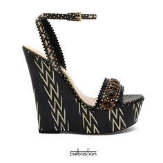 #Sebastianshoes #ethnic inspiration.  Spring-Summer 2014 #fashion #outfitethnic #outfitetnico #outfit #outfitsummer #sandals #ethnicsandals #shoes #wedge