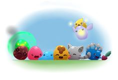 Slime Rancher by SapphireSeahorse on DeviantArt