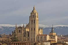 the Cathedral in Segovia, considered a masterpieces of Basque