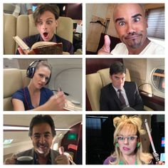 When we're not chasing UNSUBS we are getting our GOOFBALL ON!!!! We LOVE ALL OUR FANS!!!! Thank You for ALLOWING us to scare you, creep you out and entertain you for 9 years!!!! CM fans are the BEST!!!! ‪#‎CriminalMindsWednesdays‬ ‪#‎CM9‬ - Shemar