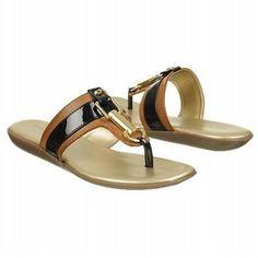 BANDOLINO JILLIAN NATURAL/BLACK SLIDE SANDAL WOMEN SIZE 7 M Girls Sandals, Women Sandals, Flat Sandals, Slide Sandals, Women's Shoes Sandals, Nike Tn Shoes, Cute Shoes Flats, Balerina, Ladies Slips