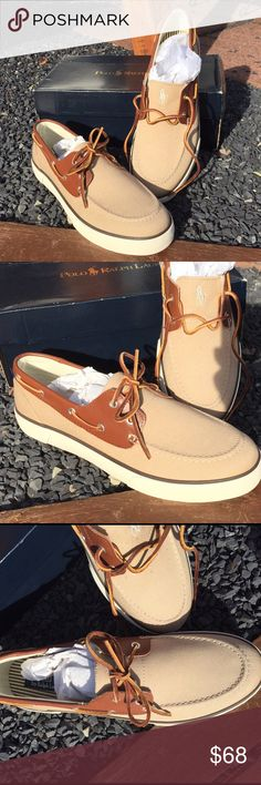Polo Ralph Lauren Rylander Boat Shoes Size 13 D New in the box. Canvas Boat Shoes Size 13 D. Be sure to view the other items in our closet. We offer both women's and Mens items in a variety of sizes. Bundle and save!! Thank you for viewing our item!! Polo by Ralph Lauren Shoes Boat Shoes