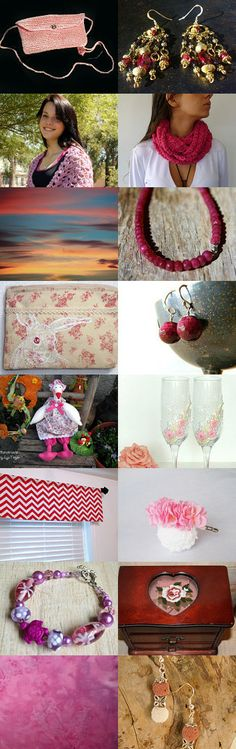 Rose Coloured Glasses by Angie Bisset on Etsy--Pinned with TreasuryPin.com