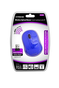 Introducing Xtreme Cables Wireless Optical 24Ghz Mouse 95905. Great product and follow us for more updates!