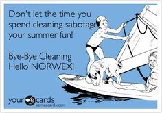 "Last night, I was at another Norwex Party and as usual, I asked, ""What do you want to save the most --- time, money, healthy, or the environment?"" Nearly everyone said they wanted to save time, especially when we would rather be outdoors enjoying the summer."