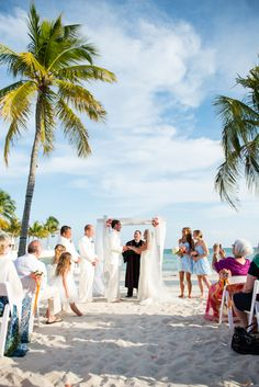 Southernmost Beach wedding | Key West