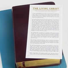 In a video posted to social media, Elder Dallin H. Oaks of the Quorum of the Twelve Apostles and his Scripture Case, Scripture Study, Birth Of Jesus Christ, Special Quotes, General Conference, Old Testament, Latter Day Saints, The Life, Lds