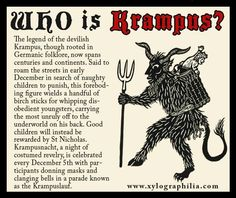 KRAMPUS WARNING!