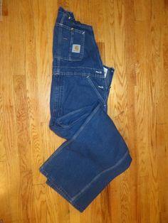 Vintage Carhartt Bib overalls Size 38 X 30 #Carhartt #Overalls