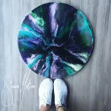 Image result for round resin artwork